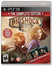 BioShock Infinite The Complete Edition PS3 Sony PlayStation 3 Brand New Sealed
