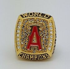 2002 Anaheim Angels World Series championship ring Baseball size 11 super value