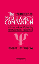 The Psychologist's Companion: A Guide to Scientific Writing for Students and Re…