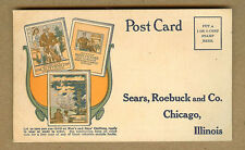 1914 Sears, Roebuck & Co. Postcard for Free Mens, Boys Clothing Catalogs