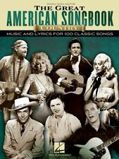 The Great American Songbook Country Sheet Music and Lyrics for 100 Cla 000110386