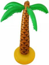 "2x Inflatable Palm Tree 6ft 168cm 72"" Hawaiian Summer Party UK SELLER QUICK POST"