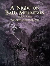 A Night on Bald Mountain : Fantasy for Orchestra in Full Score by Modest...
