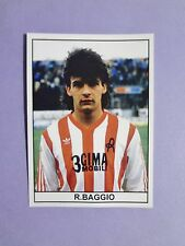 FIGURINA CALCIATORI STICKER FOOTBALL L.R VICENZA BAGGIO 1984-85 NEW-FIO