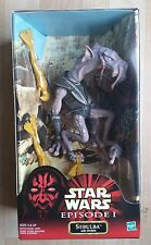 "Hasbro Star Wars EPISODE 1 E1 SEBULBA WITH CHUBAS 12"" NEW SEALED MISB"