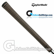 TaylorMade Bubble Crossline Replacement Grips By Lamkin - Black / Gold x 1