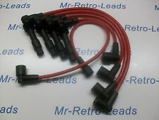 RED 8MM PERFORMANCE IGNITION LEADS C20LET C20XE VAUXHALL CAVALIER CALIBRA HT..