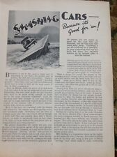 62-2 Ephemera 1937 Article Car Testing At The Chrysler Motor Company