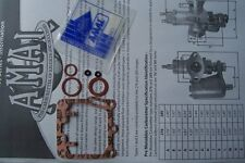 AMAL CONCENTRIC MK2 GASKET WASHER SET. 2622/144. NEW AMAL SPARES.