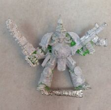 Chaos Space Marine Rogue Trader Nurgle Chainsword Metal Pewter Marines