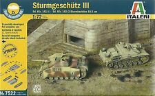Italeri 1/72 (20mm) Sd Kfz 142 StuG III & StuH 42 (2 Fast Assembly Tanks)