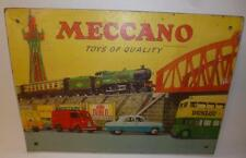 MECCANO DINKY TOYS HORNBY SERIES VINTAGE SHOP ADVERTISING SIGN - HAMLEYS 1950's