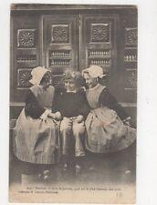 Quel Est Le Plus Hereux Des Trois France Children Vintage Postcard 386a  #2
