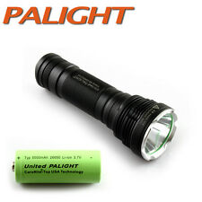 PALIGHT CREE XML-2 L2 A8 X960 Waterproof LED Flashlight Torch Six Modes