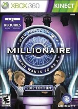 Who Wants to Be a Millionaire? (Xbox 360, Kinect Fun Video Game Show) Brand NEW
