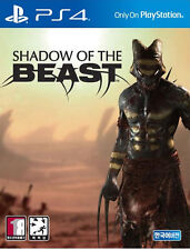 Shadow of the Beast (2016, PS4) Korean Edition / Package