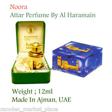 Original Noora Arabian Perfume Oil Attar Al Haramain 12ml Alcohol Free Halal