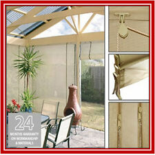 NEW! 150 x 240 Stone Mesh Shade Screen Filter Blind Backyard Outdoor Verandah