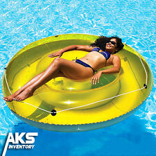 Sun Tan Island Swimming Pool Lounger New Beach Float Inflatable Floating Suntan