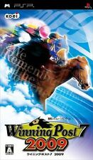Used PSP Winning Post 7 2009  SONY PLAYSTATION JAPAN IMPORT