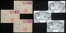 WS-E343 JAPAN - Maximum Card, Lo Of 3 1959 Royal Wedding Postcards