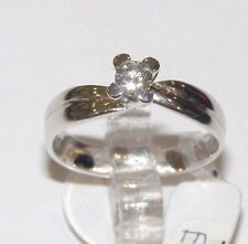 ANELLO ORO 18KT DIAMANTE RECARLO GOLD DIAMOND RING DIAMOND ANNEAU DE or