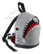SHARK Backpack SMALL Morn Creations bag infant GRAY killer whale jaws seal