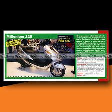 ★ ITALJET 125 MILLENIUM (Scooter) ★ 2000 Article Fiche Présentation Moto #c1227