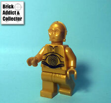LEGO ® Star Wars ™ Personnage Figurine minifig C-3PO Pearl Gold SW161A 8129