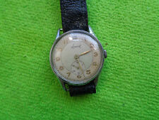 OLD VINTAGE ACCURIST GENT WATCH MILITARY ??