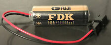 Brand New FDK FUJI CR8.LHC 17430 3V Lithium Battery for PLC backup power W/Plug