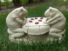 Concrete Latex Fiberglass Mold Garden Frogs Statue