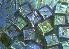 500 VAN GOGH KEY LARGO BLUEGREEN Mosaic Glass Tiles