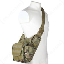 Multitarn Camo MOLLE Shoulder PACK Military Army Tactical Sling Messenger BAG