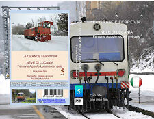 DVD - COLLANA LA GRANDE FERROVIA - NEVE DI LUCANIA - LE FAL NEL GELO - vol. 5