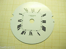 Cadran pendulette Zifferblatt CARTIER Paris montre dial vintage 63 mm Clock C311