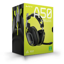 Astro A50 Wireless Gaming Headset for Xbox One Dolby Pro Logic IIx Black/Lime
