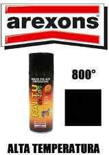 AREXONS SMALTO VERNICE SPRAY NERO OPACO ALTE TEMPERATURE 600° MARMITTE