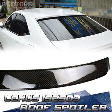 14-16 Carbon LEXUS IS250 IS300 Saloon D-Look Roof Spoiler New IS Sport