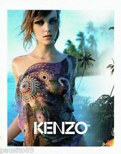PUBLICITE ADVERTISING 116  2004   Kenzo haute couture   foulard  vetements plage