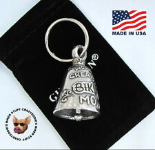 WORLDS GREATEST BIKER MOM GUARDIAN MOTORCYCLE RIDE BELL  **MADE IN USA **