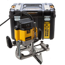 "DEWALT 2000w DW625 1/2"" Electronic Variable Speed 80mm Plunge Router & Case,240v"