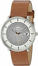 Skagen Original SKW6277 Men's Hald Silver Dial Brown Leather Watch 40mm Solar