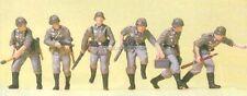 H0 Preiser 16879 Vorgehende Infanterie. Militär Figuren