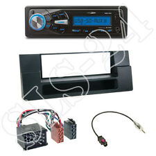Caliber RMD055 USB/SD Radio +BMW 5er (E39) X5 (E53) +1-DIN Blende +ISO-Adapter