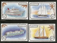 St Kitts SC # 165-168 Ships .Complete Set .MNH