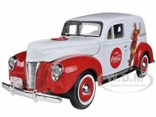 "1940 FORD SEDAN DELIVERY HOLIDAY PANEL VAN ""COCA COLA"" 1/24 MODEL BY MCC 439695"