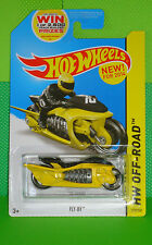 2014 HOT WHEELS OFF-ROAD #119 Fly-By - Jet Turbine-Powered Motorcycle