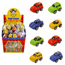 10 Mini Pull Back Race Cars, Ideal for Birthday Party loot bag toys