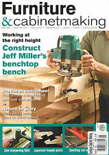 FURNITURE & CABINETMAKING May 2015 DIY Design Projects Build Benchtop Bench Saw